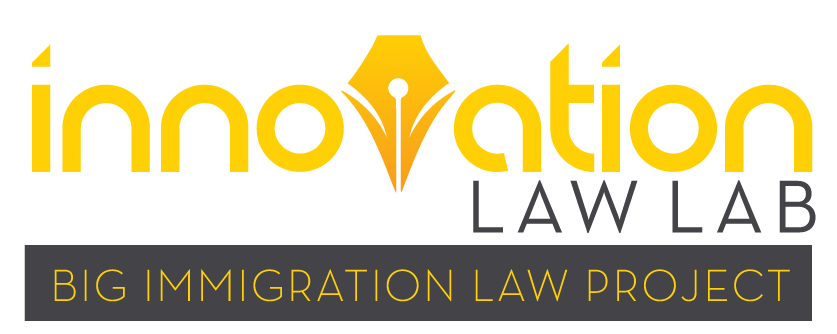 Big Immigration Law Project | Innovation Law Lab
